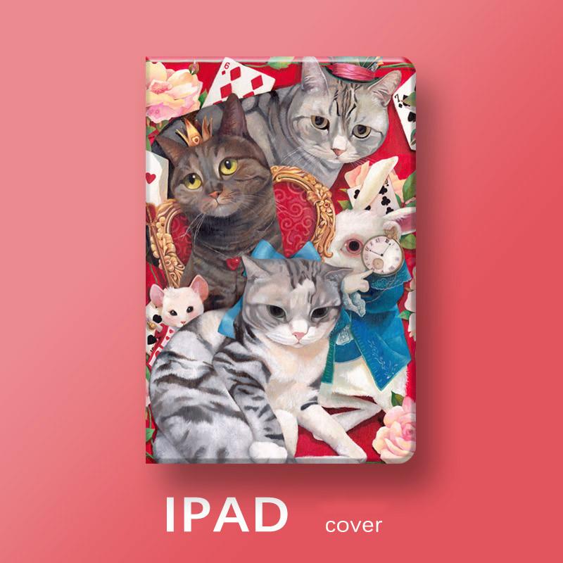 9.7インチiPad Pro 10.5インチケース可愛いネコ